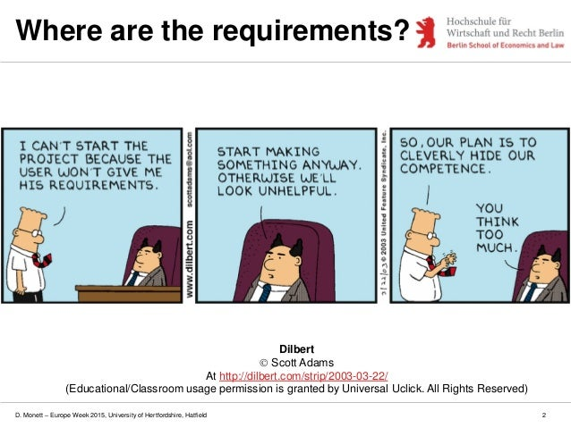 A Structured Approach To Requirements Analysis (Lecture Slides)