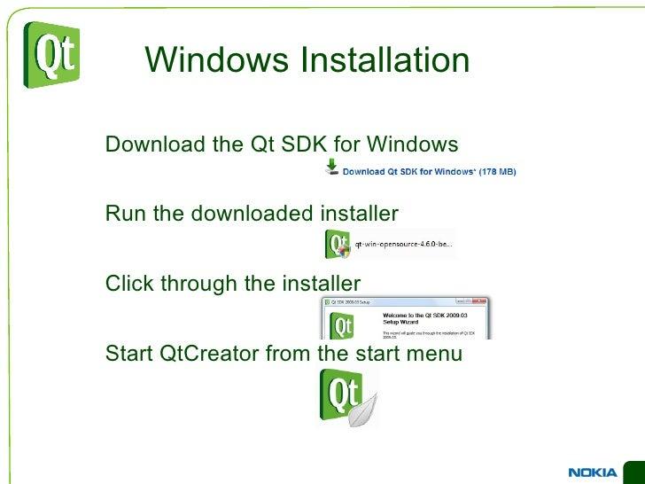 Changes to Qt must be fed back to the community </li></ul><li>GPL – free </li><ul><li>Your application must be open