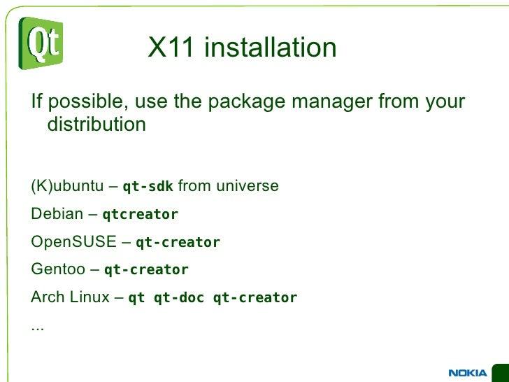 1996 – The KDE project was  started by Matthias Ettrich  (now works for Nokia Qt  Development Frameworks) </li></ul>