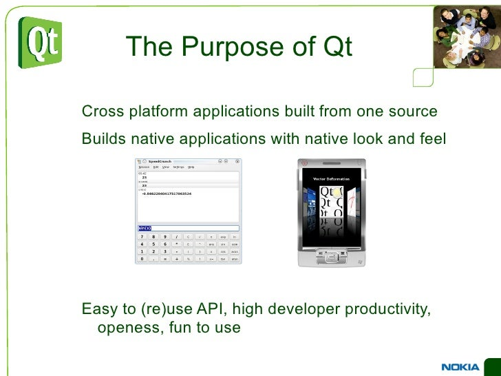 All code is still plain C++ </li></ul>foreach (int value, intList) { … } QObject *o = new QPustButton; o->metaObject()->cl...