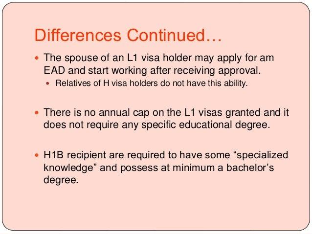 L1 to H1B Change of Status
