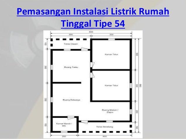 L2 instalasi listrik pemasangan instalasi listrik rumah tinggal tipe 54 24 ccuart Choice Image