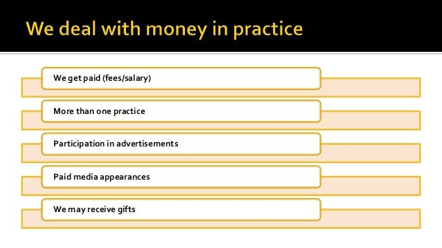 Ethical Issues For Financial Advisors