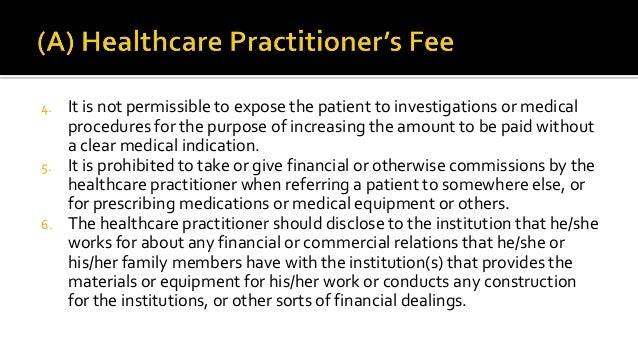 Ethical issues in healthcare financing.