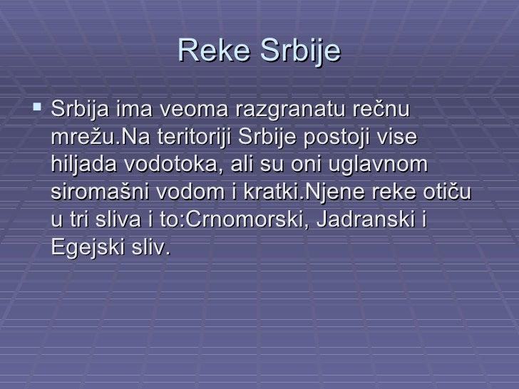 recni sliv srbije karta L221   Geografija   Reke Srbije   Ivan Veličković   Vukosava Cvetković recni sliv srbije karta