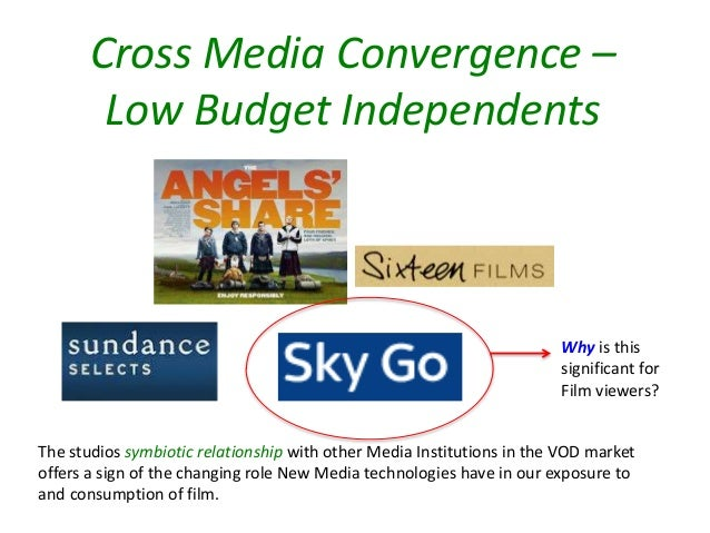 media convergence Media technological convergence is the tendency that as technology changes, different technological system sometimes evolve toward performing similar tasks digital convergence refers to the convergence of four industries into one conglomerate.