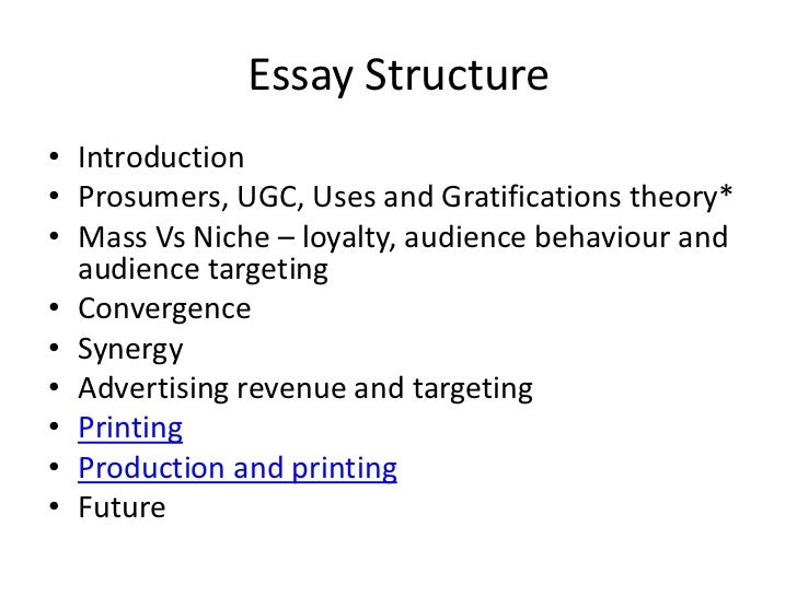 l essay structure and exam question essay structure• introduction•