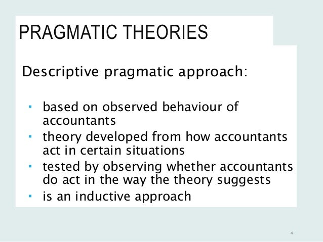 advantages of accounting theory pdf