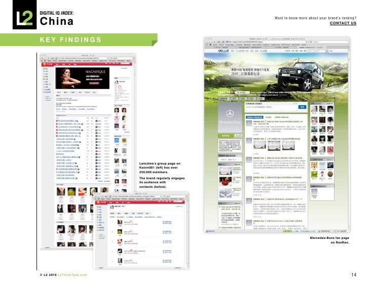 DIGITAL Iq Index:  China                                                           Want to know more about your brand's ra...