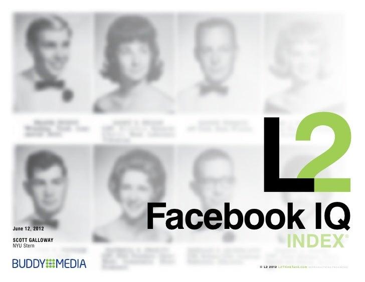 June 12, 2012    Facebook IQ                                      INDEX                                                   ...