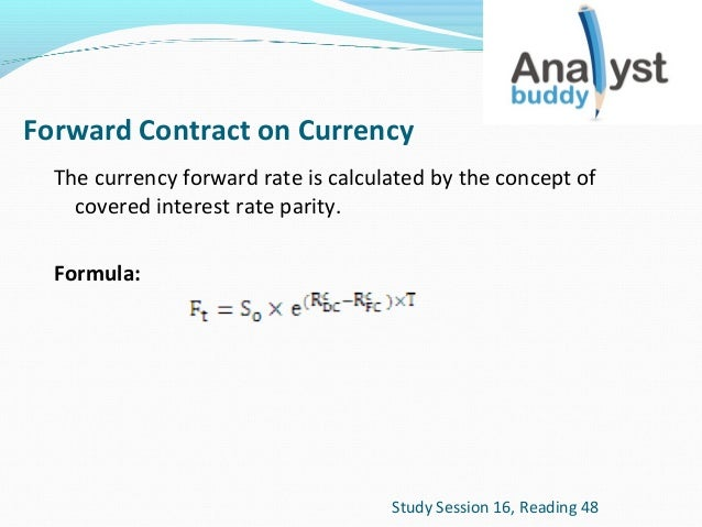 Frmula forex forward rate sistema automatizado forex de gann forward rate agreement recent news agree to pay each other the interest difference between the agreed upon rate the forward rate refer to the formula platinumwayz