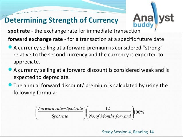 Forex currency strength formula
