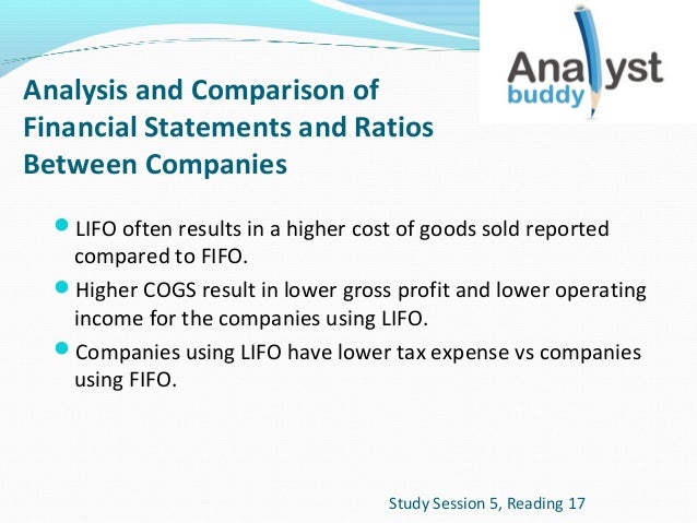 how to find gross profit using fifo