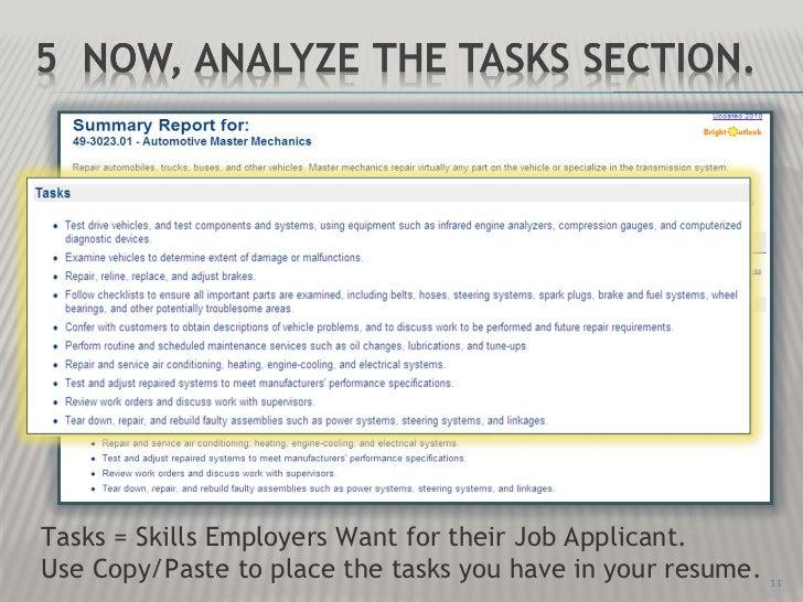 l2 job skills identification ppt show