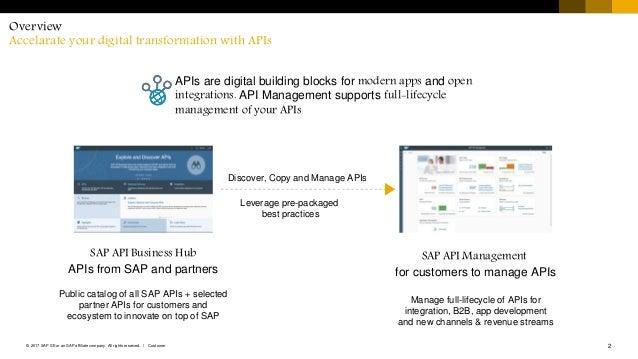 SAP Cloud Platform API Management Technical Brief
