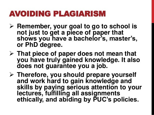 Plagiarism Policies & Guidelines @ WWU: Home