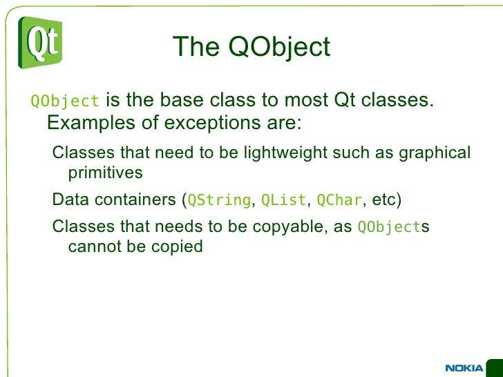 Treinamento Qt básico - aula II