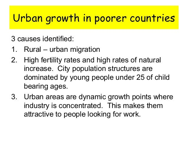 what are the reasons for urban blight in the cities of many developing countries Urban planning and the informal sector in developing countries about the resulting urban blight the quality of life in many developing urban areas.