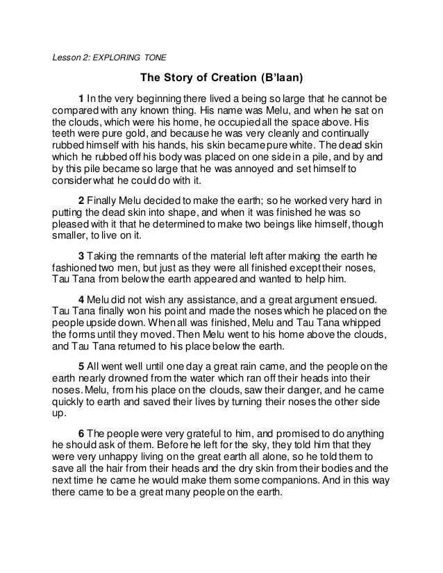 """a comparison of the genesis 1 and genesis 2 in the creation story Genesis 2:4, moses 3:4, and abraham 5:4 all describe """"generations of the  heavens and the earth"""" in light of moses 1:35, 37-40, it seems that."""