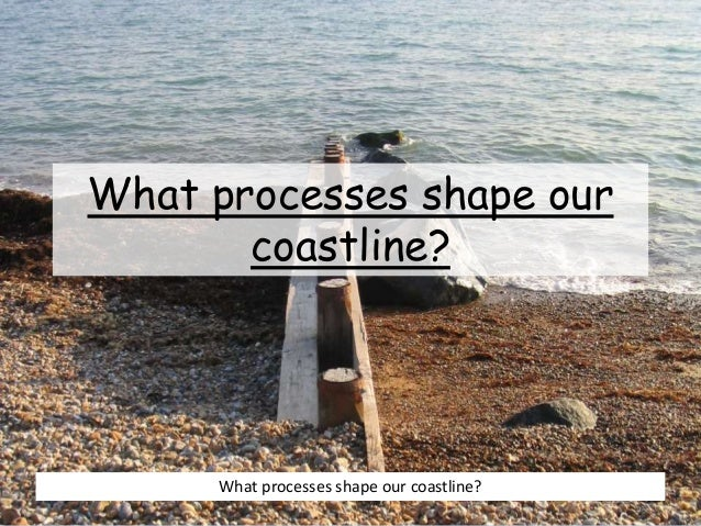 What processes shape our coastline? What processes shape our coastline?
