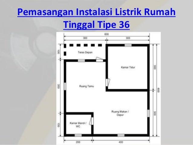 L3 perhitungan instalasi listrik pemasangan instalasi listrik rumah tinggal tipe 36 28 swarovskicordoba Images