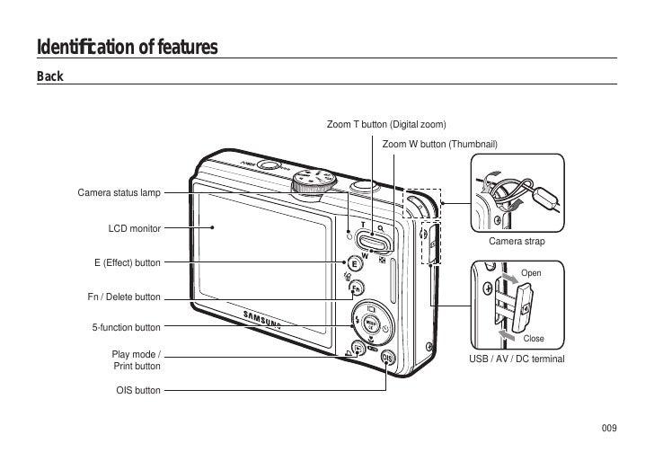 Samsung Camera L310W User Manual