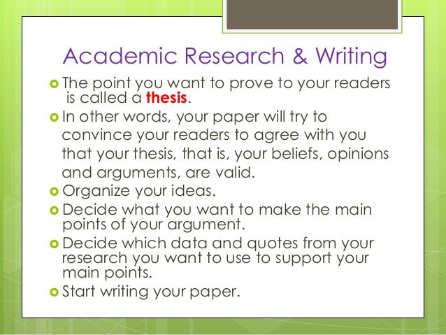 academic research and writing From my experience as an online instructor, most classes involve a lot of writing, from discussion board postings to written assignments, and many instruct.