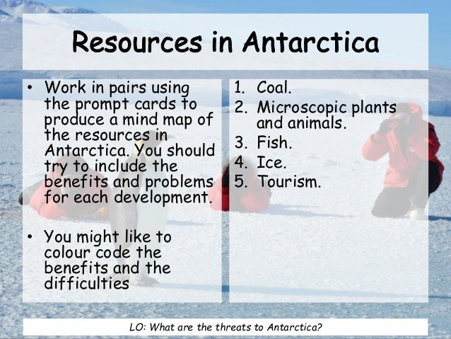 Speech on the Development of Antarctica