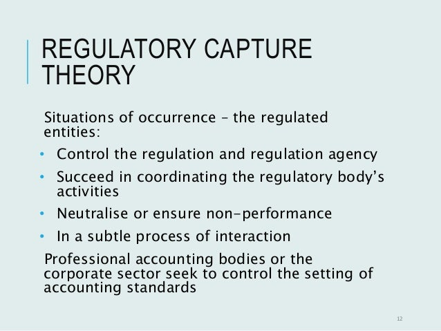 regulatory bodies in accounting Regulatory requirements for accounting separations generally include rules for keeping separate regulated and non-regulated accounts where feasible, allocating costs in accounts that the operator uses for both regulated and non-regulated operations, transactions between corporate affiliates, and procedures for compliance reporting.