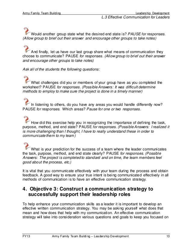 Effective Communication for Leaders (script)