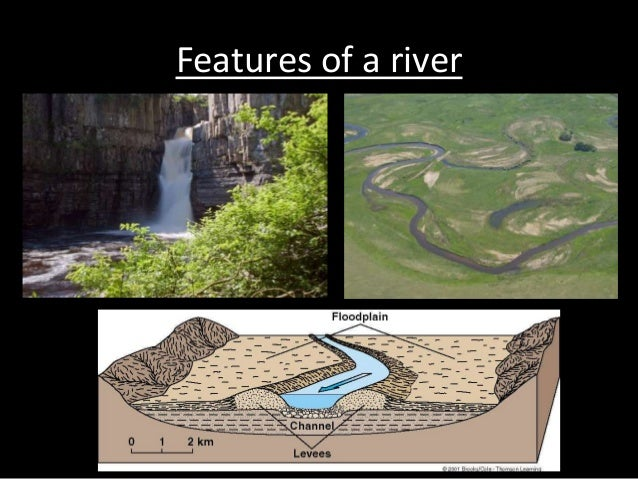 Features of a river
