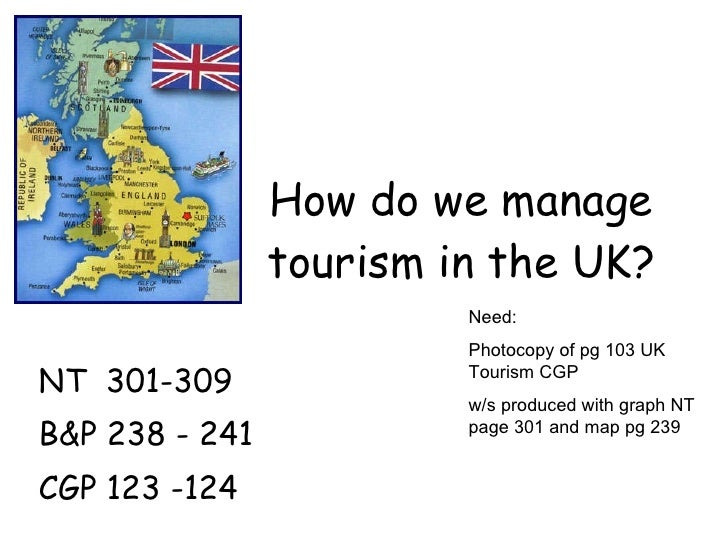 L3 how do we manage tourism in the uk