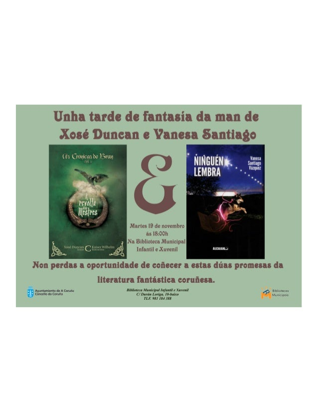 Lemos con Xosé Duncan e Vanesa Santiago