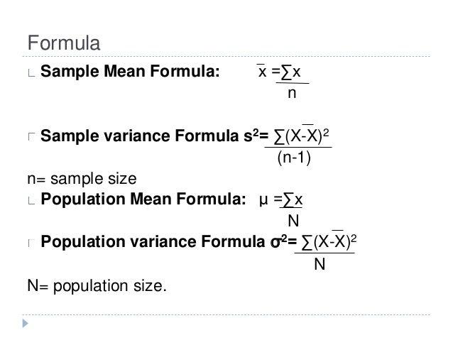 ... 4. Formula Sample ...