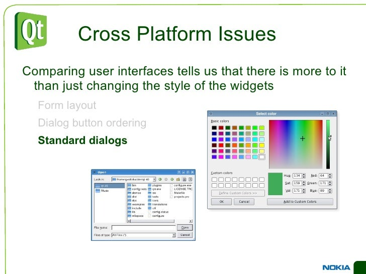 An Example Dialog <ul><li>Dialogs are built from multiple layers of layouts and widgets </li></ul>