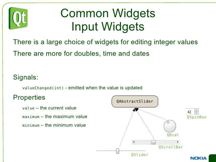 An Example Dialog <ul><li>You can build the same structure using Designer </li></ul>