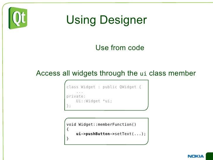 Adding items </li><ul><li>addItem(QString)  – appends an item to the end of the list