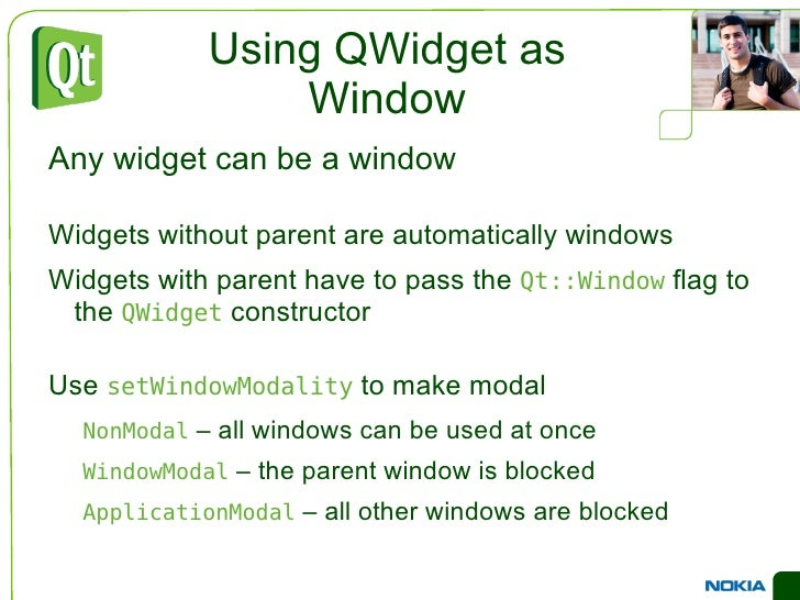 Common Widgets Containers <ul><li>Container widgets are used to structure the user interface