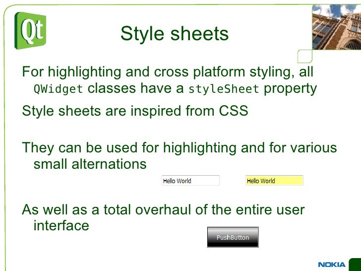 Signals </li><ul><li>editTextChanged(QString)  – emitted while the text is being edited </li></ul><li>Properties </li><ul>...