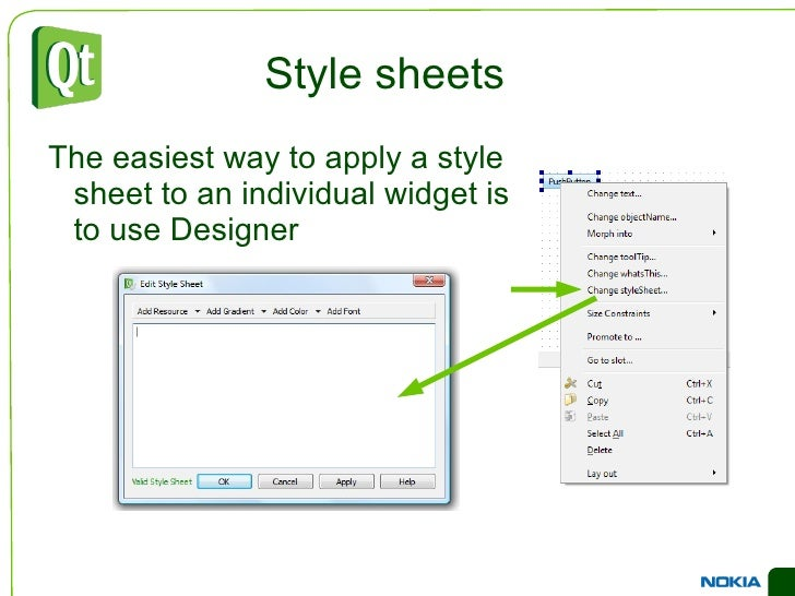 Common Widgets Input Widgets <ul><li>There is a large choice of widgets for editing integer values
