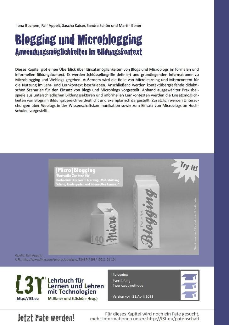 2 — Lehrbuch für Lernen und Lehren mit Technologien (L3T)1. Einführung                                  ...