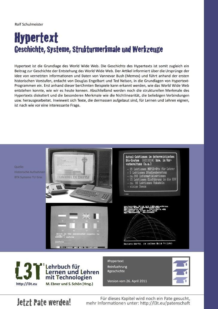 2 — Lehrbuch für Lernen und Lehren mit Technologien (L3T)1. VorkommenZum Glück müssen wir heute nicht me...