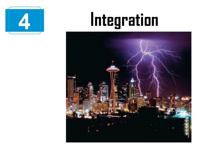 4  Integration