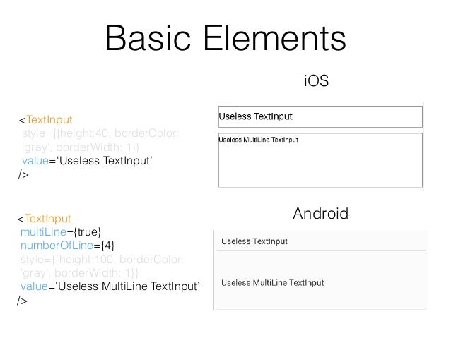 React Native] Lecture 4: Basic Elements and UI Layout by using FlexB…