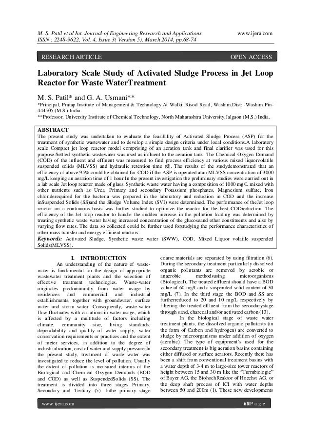 M. S. Patil et al Int. Journal of Engineering Research and Applications www.ijera.com ISSN : 2248-9622, Vol. 4, Issue 3( V...