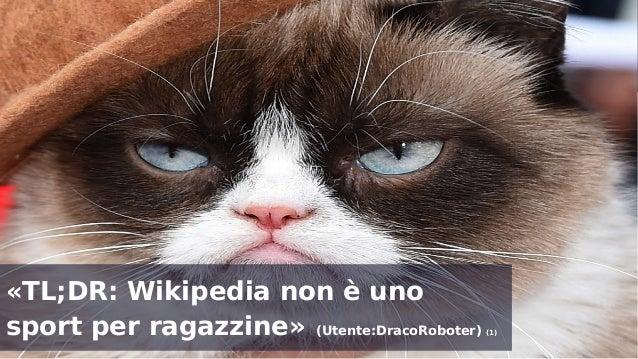 Aziende e Wikipedia: dobbiamo parlare - Social Media Week Milano - Febbraio 2015  Slide 3