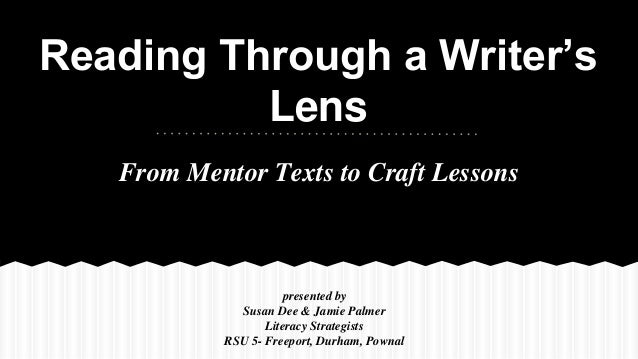 Writer S Craft Powerpoint