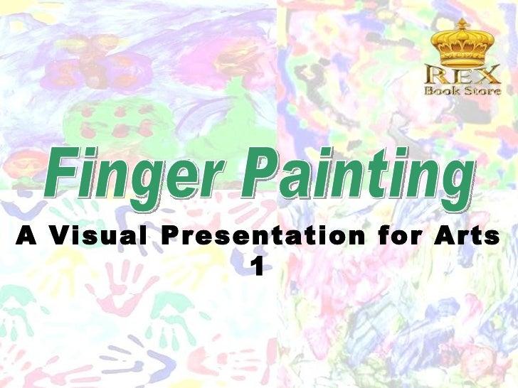 A Visual Presentation for Arts              1