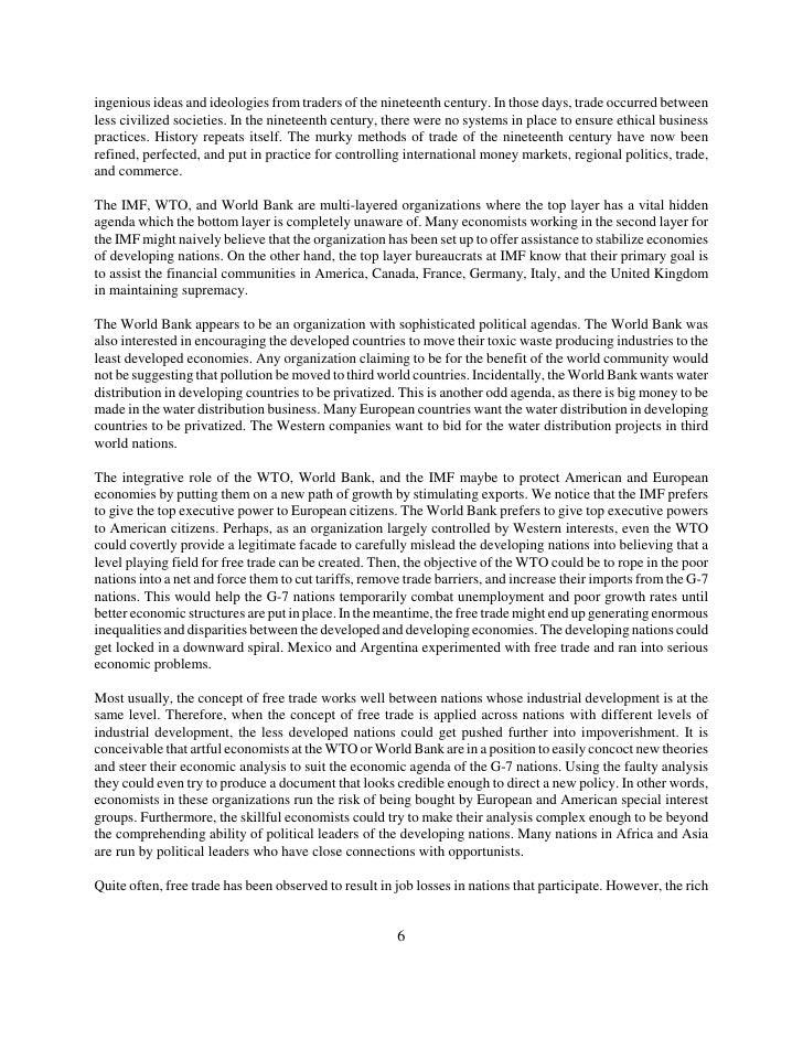 the imf wto and world bank 2017 world bank & imf april 21-23 / washington, dc.