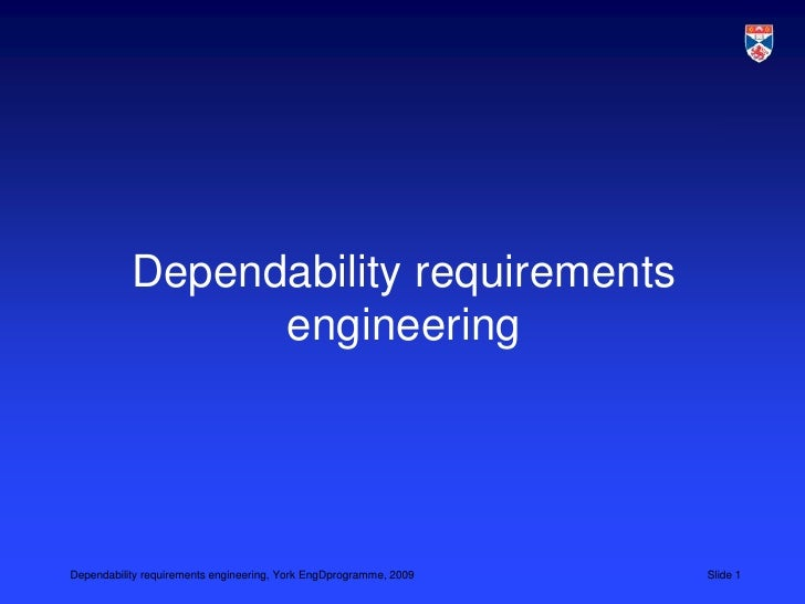 Dependability requirements engineering<br />